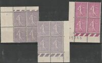 FRANCOBOLLI - 1924/26 FRANCIA SEMINATRICE MNH E/2291