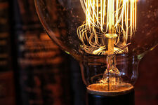 Edison Bulb - Globe Style - 6 Pack - Vintage Style Repro - 40W