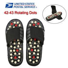1 Pair Reflexology Sandals Foot Massager Slippers Acupressure Home Massage Shoes