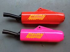 1990 Yamaha YZ250 035 Acerbis Red and Hot Pink available Plastic Silencer NOS