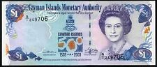Cayman Islands, One Dollar, Q/1 249706, 2003, Uncirculated.