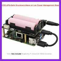 Raspberry Pi X725 UPS 4 Model B HAT 18650 Power Max 5.1V 8A Output +Safe Shutdow