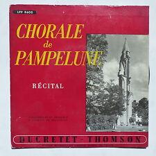 Chorale de Pampelune Récital Abbaye de Royaumont LPP 8600