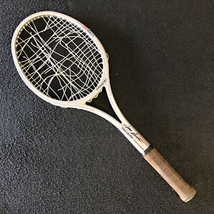 IVAN LENDL signed autographed match used?? Adidas Tennis Racquet VERY RARE
