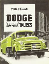 1951 Dodge 2-Ton HH Models Job-Rated Dealer Truck Brochure