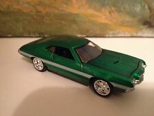 1/64 72 Ford Torino GT Fastback in Rally Green/White Laser Stripe with 351 4V