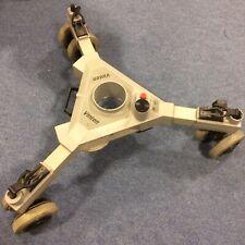 Vinten Osprey pedestal rolling spider/dolly base for broadcast camera tripod