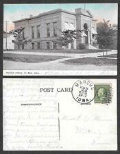 1911 Iowa Postcard - Le Mars - Carnegie Library