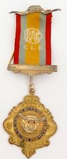 1979 R.A.O.B. G L E BUFFALO MORETON BAY, QLD LODGE No 579 MEDAL.