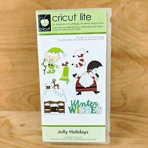 Cricut Lite Jolly Holidays New Unlinked Sealed Art Cartridge RARE Retired 2010
