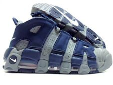 new product def46 edfe0 7 Men s Nike Air More Uptempo 96 Cool Grey White Midnight Navy Blue 921948  003