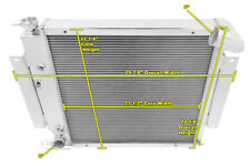 2 Row Perf Champion Radiator for 1970 - 1981 International Scout II V8 Engine