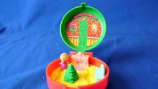 1993 Bluebird Polly Pocket Vintage McDonalds Happy Meal Toy Christmas Wreath