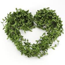 20M Silk Leaf Artificial Green Leaves Home Decor DIY Wreath Gift Craft Flower