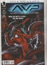 Alien Vs. Predator AVP Life and Death Comic 2 of 4 Dark Horse 2017 Abnett Thies
