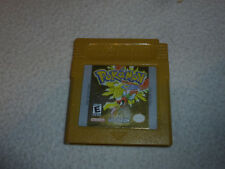 NINTENDO GAMEBOY GAME CARTRIDGE ONLY POKEMON GOLD VERSION ADVANCE COLOR CART >>
