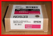 03-2011 Genuine Epson Pro 3800 Magenta  K3 Ink  T5803 T580300