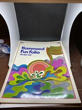 Hammond Fun Folio Model 123 & 124 Preowned