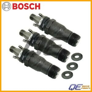 3 Mercedes Benz 190D 300D 300SD 350SD 350SDL S350 Fuel Injector Bosch Reman