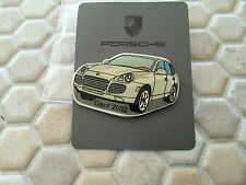 PORSCHE ISSUED OFFICIAL SHOWROOM 911 50th ANNIVERSARY BOXED LAPEL PIN 2013