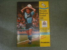 WYCOMBE WANDERERS (PROMOTED)  V  CARLISLE UNITED  (PLAY OFF SEMI-FINAL)  18-5-94