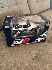 NEW Initial D Metal Model Kit 1:24 Diecast Metal Toyota Trueno AE86 Jada Toys