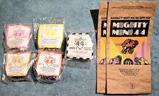 1991 McDonald's Happy Meal Toys - MIGHTY MINI 4x4 - Mint Set (4) + U-3 + 2 Bags