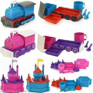 blue pink train castle boxed dinner breakfast set baby childrens novelty 6 pc