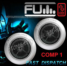 FLI Audio integrador comp1 2.5cm 25mm 165 vatios Puerta de coche TWEETERS Set -