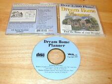 Dream Home Planner PC CDROM ValuSoft 1997 for Windows 95/3.1