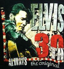 ELVIS PRESLEY 30TH ALWAYS THE ORIGINAL MEDIUM SHIRT THE KING OF ROCK N ROLL