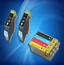 6 Non-OEM T125'S ink cartridge T1251 1252 1253 1254for Epson NX125/127/420/625