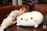 Japanese Anime Chicken Pillow Plush Toys Soft Stuffed Animal Doll 60cm Kid Gifts