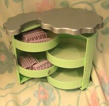 American GIrl Doll Label Salon Caddy and Curlers AS IS