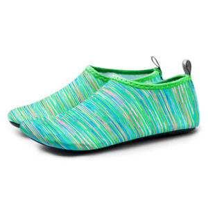 Unisex Barefoot Water Skin Shoes Aqua Socks Summer Yoga Slip On Swim Surf Sports