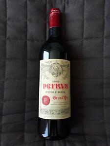 Chateau PETRUS 1989 0,75 ltr. 100 / 100 PP Parker Punkte Bordeaux Pomerol Top