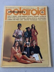 Petersen's How to PhotoGraphic Library Polariod Photography 1974