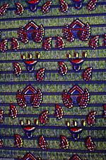 African Wax Print Ankara Fabric Superior Quality Bright Colors £4.49 Per Yard