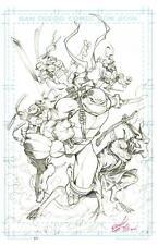 TMNT Teenage Mutant Ninja Turtles Ltd Ed Art Print SDCC 2014  MICHAEL DOONEY