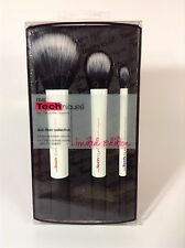 Real Techniques Duo Fiber Collection Set of 3 Makeup Brushes *NEW*