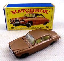 ** MATCHBOX SERIES LESNEY JAGUAR MARK 10 #28 MINT BOX **