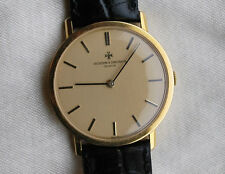 VACHERON CONSTANTIN MEN'S 18K GOLD MANUAL WIND WATCH MADE IN GENEVA, SWITZERLAND