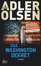 Das Washington-Dekret von Jussi Adler-Olsen (2015, Taschenbuch) UNGELESEN