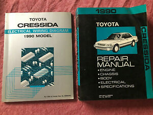Repair Manuals Literature For Toyota Cressida For Sale Ebay