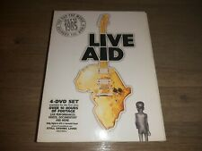 Live Aid (1985) - Various Artists - 4 DVD`s -