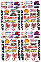RC Auto Spielzeug Racing Aufkleber Aufkleber Rennsport Fahrrad RC CAR Toys #ML03