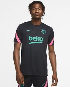 Barcelona Nike Training Shirt Top Breathe Strike Top '20-'21 Men's Large CK9610