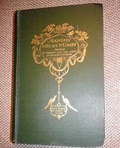 1897 1st edition Hardback MOUNTAIN STREAM & COVERT Alexander Innes Shand