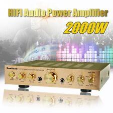 Sunbuck 338BT 2000W 5Ch bluetooth Power Amplifier HIFI AMP Stereo FM 110V US **