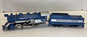 Tyco HO Scale The Royal Blue 2-8-0 Steam Locomotive & Tender #638